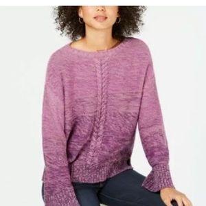 Sweater Atyle & co pupple sweater